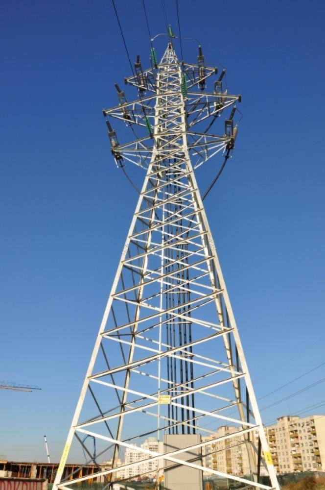 Изместване на въздушна електропроводна линия 110kV